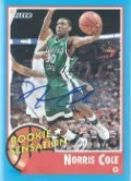 2011-12 Fleer Retro Basketball Norris Cole