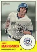 2012 Heritage Minor League Jake Marisnick