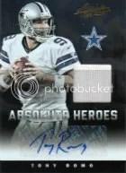 2012 Panini Absolute Tony Romo Heroes