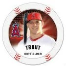 2013 Topps MLB Chipz Mike Trout