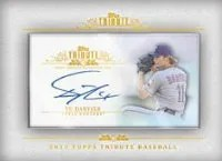 2013 Topps Tribute Yu Darvish Mini Auto