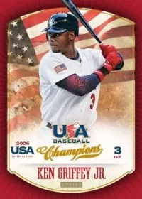 2013 Panini USA Baseball Champions Ken Griffey Jr. Base