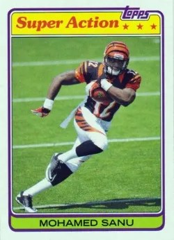 2013 Topps Archives Super Action #81SAMS Mohamed Sanu
