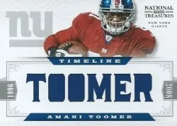 2012 National Treasures Armani Toomer