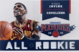 12/13 Panini Marquee Kyrie Irving All-Rookie Team