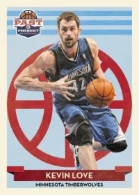 12/13 Past & Present Kevin Love