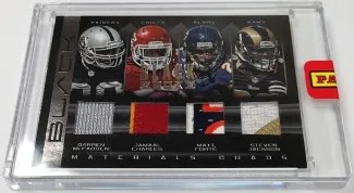 2013 Panini Black Box Quad Jersey