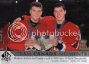 12-13 Sp Authentic Dual Team Canada