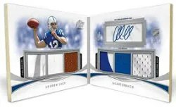 2012 Topps Prime Andrew Luck Book