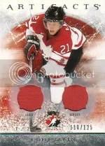 2012-13 Artifacts Cody Eakin Jersey