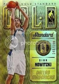 2012-13 Gold Standard Dirk Nowitzki #/199