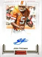 2012 Panini playbook Josh Freeman Auto