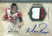2012 Topps Five Star Matt Ryan Auto