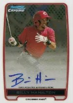 2012 Bowman Chrome Billy Hamilton Auto
