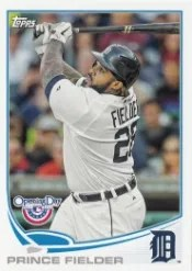 2013 Topps Opening Day Prince Fielder Base #28