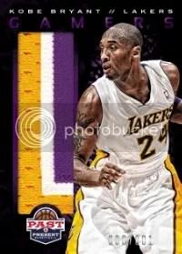 12/13 Panini Past & Present Kobe Bryant Gamers
