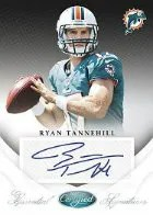 2012 Certified Ryan Tannehill Autograph