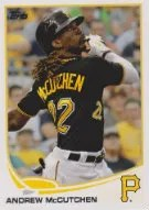 2013 Topps Series 1 Andrew McCutchen