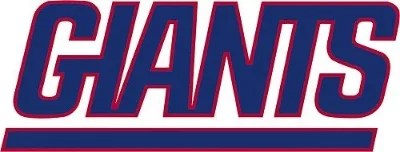 NY Giants Logo Sticker
