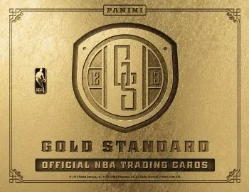 12/13 Panini Gold Standard Basketball