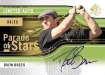 2012 Sp Authentic Golf Drew Brees
