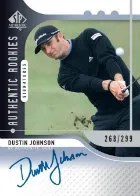 2012 Sp Authentic Dustin Johnson Autograph