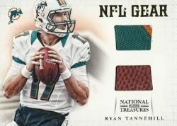 2012 National Treasures Ryan Tannehill Dual