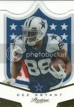 2013 Prestige Dez Bryant NFL Shield