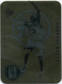12-13 Panini Gold Standard Allen Iverson Metal Card