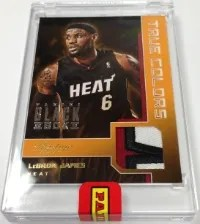 2013 Panini Black Box True Colors LeBron James Jersey