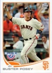2013 Topps Opening Day #1 Buster Posey