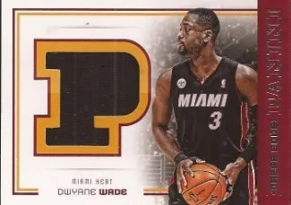 2012/13 Panini Dress Code Dwyane Wade Jersey Card