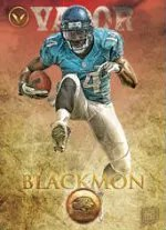 2012 Topps Valor Justin Blackmon RC