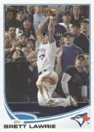 2013 Topps Brett Lawrie Sp Out of Bounds