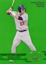 2013 Fleer Retro Mike Trout Green