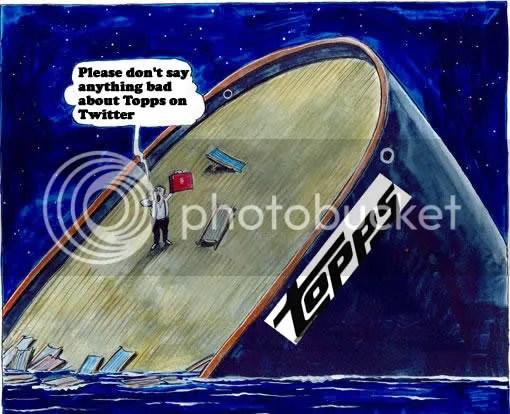 Topps Sinking Ship