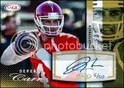 2014 Sage Autograph Derek Carr