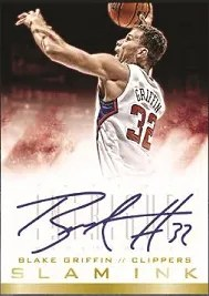 13/14 Panini Intrigue Blake Griffin Slam Ink Auto