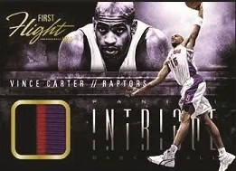 13/14 Panini Intrigue First Flight Vince Carter Prime JErsey
