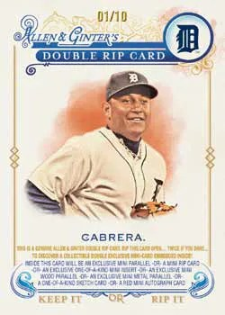 2014 Topps Allen & Ginter Double Rip Card