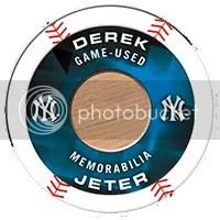2014 Topps MLB Chipz Derek Jeter Relic