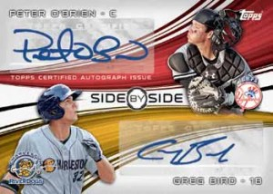 2014 Topps Pro Debut Side By Side Dual Autograph