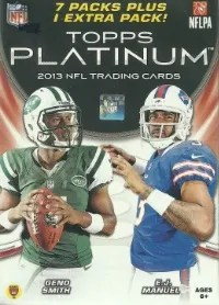 2013 Topps Platinum Retail Box