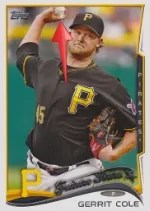 2014 Topps Series 1 Gerrit Cole Sparkle