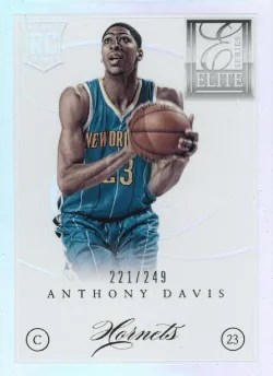 12/13 Panini Elite Series Anthony Davis RC
