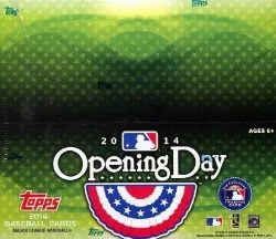 2014 Topps Opening Day Box