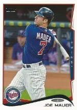2014 Topps Series 1 Joe Mauer