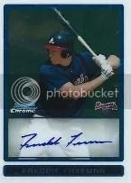 2009 Bowman Freddie Freeman Autograph