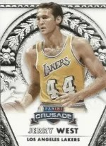 13/14 Panini Crusade Jerry West Retired Player Base Card