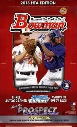 2013 Bowman Baseball Box
